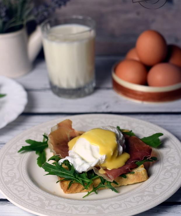 Jajka po benedyktyńsku - Jajka i omlety