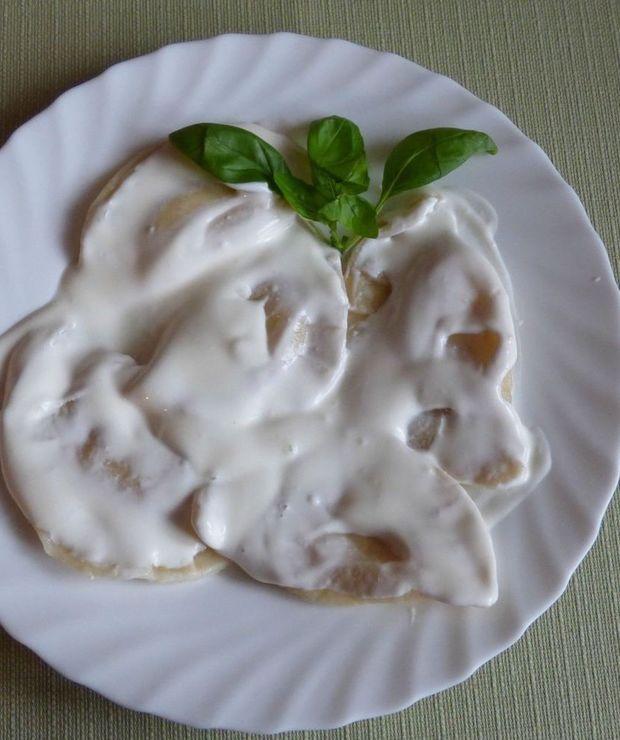 Pierogi z serem na słodko - Mączne