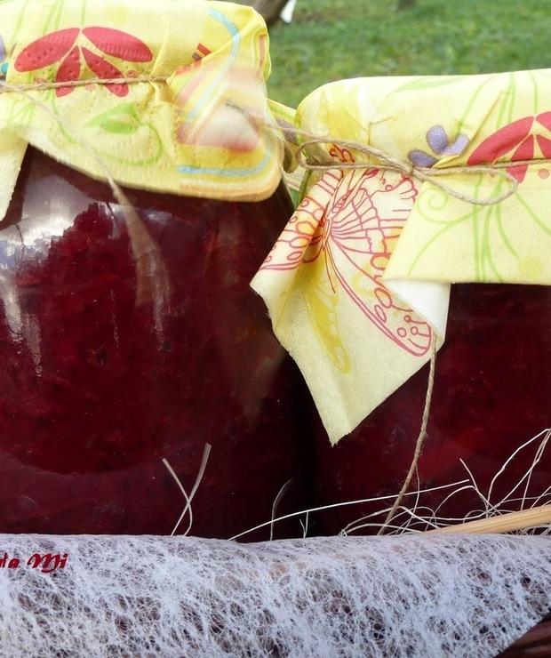 Buraczki z papryką i cebulą ( w słoiki) - Warzywne