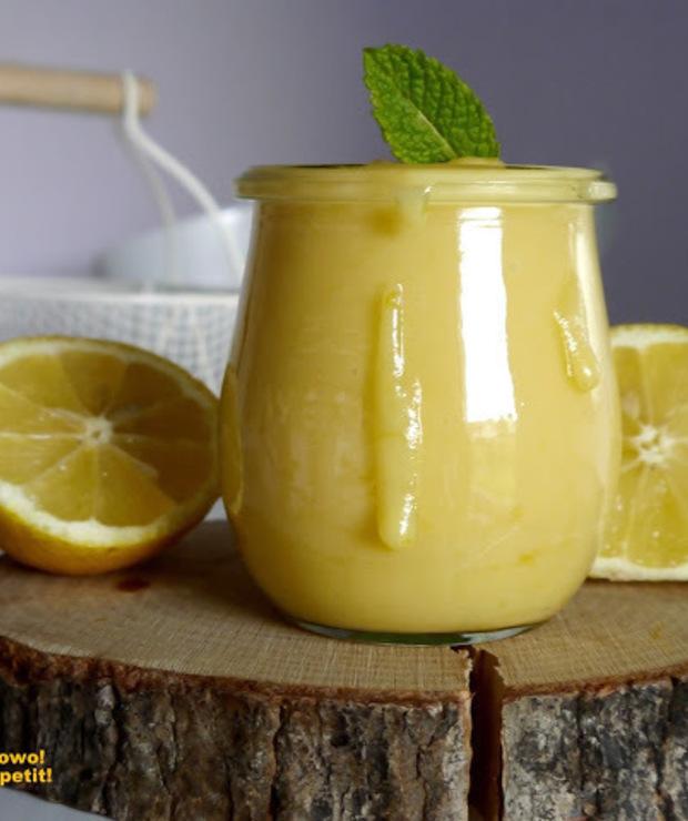 Lemon Curd - genialny, prosty krem cytrynowy - Owocowe