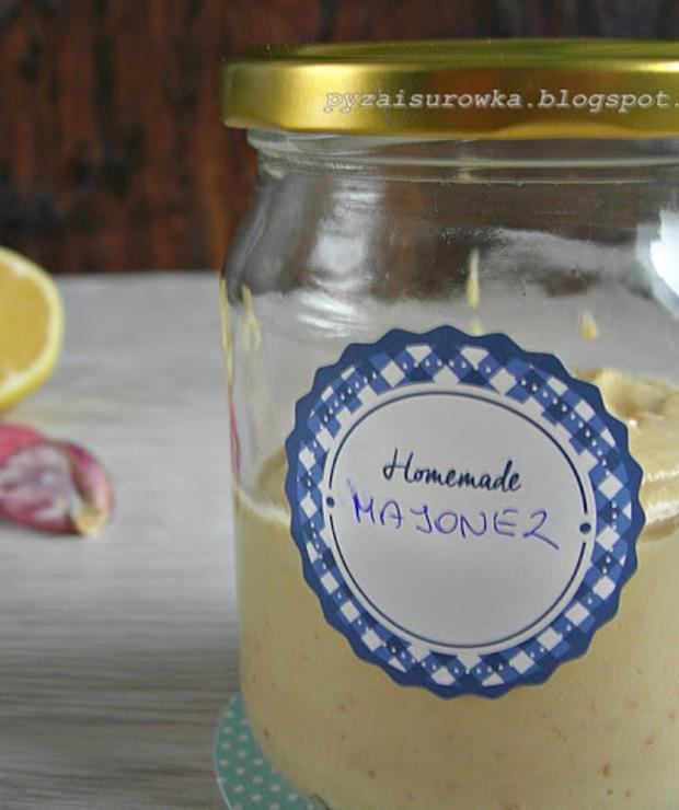 Domowy majonez z ciecierzycy (wegetariański) - Na zimno