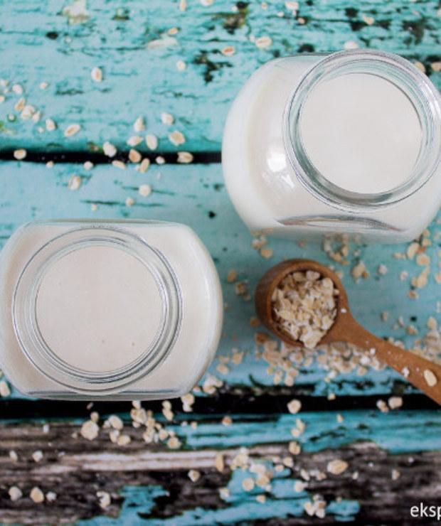 Domowe mleko owsiane – jak zrobić - Zimne