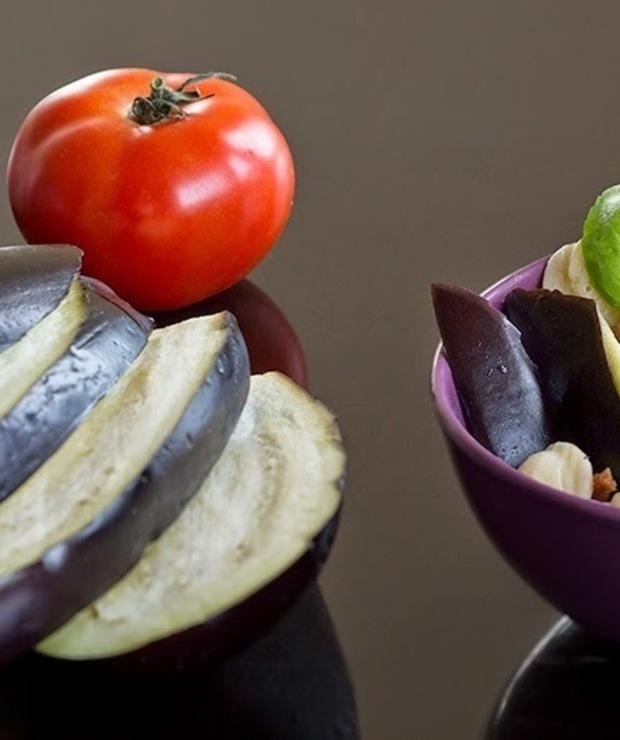 Makaron z sosem z bakłażanem i mascarpone - Wołowina