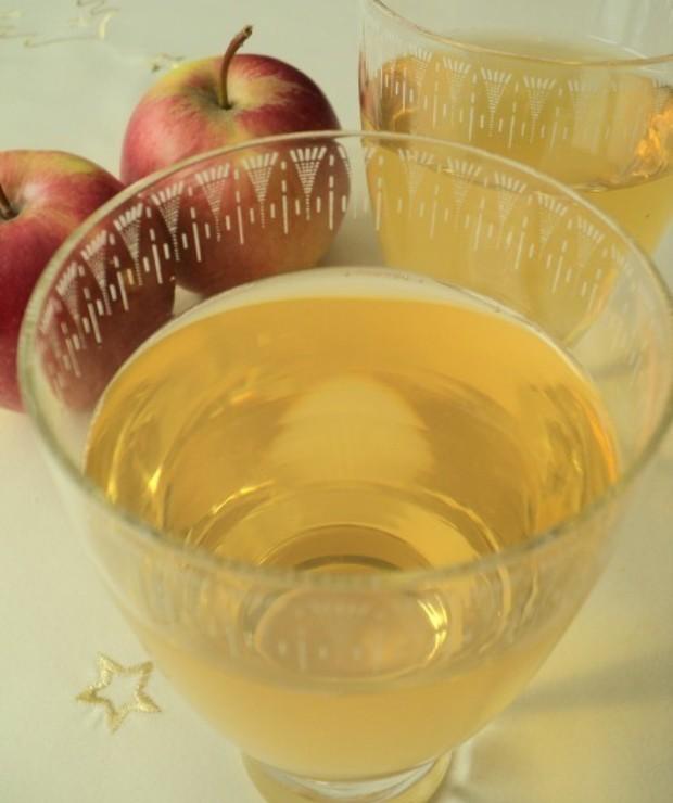 Musujący cydr jabłkowy - Zimne