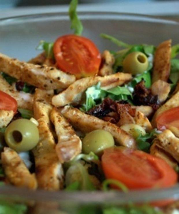 Dietetyczna sałatka z kurczakiem - Mięsne