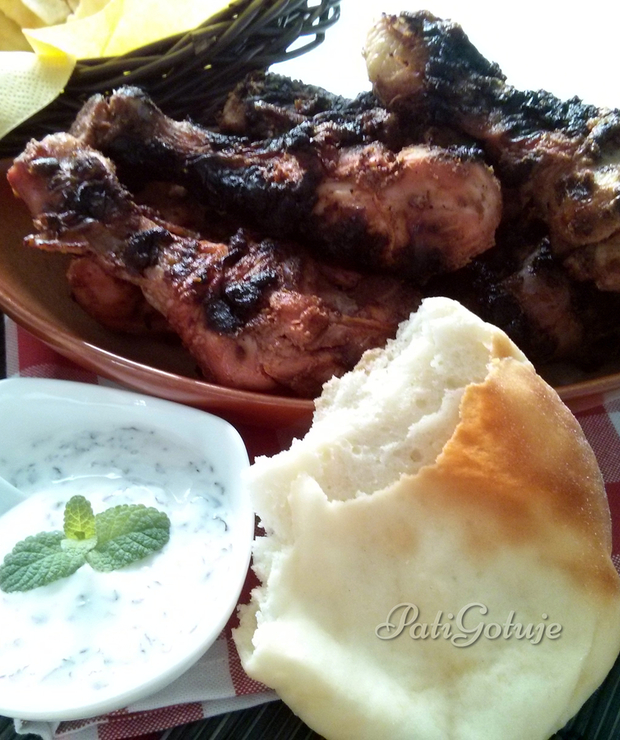 Kurczak tandoori - Potrawy z grilla