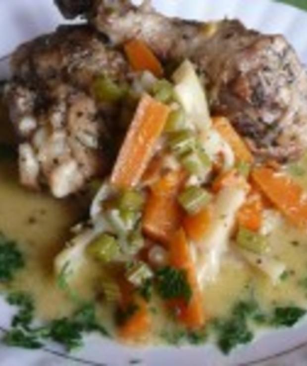 Kurczak w sosie prowansalskim - Drób