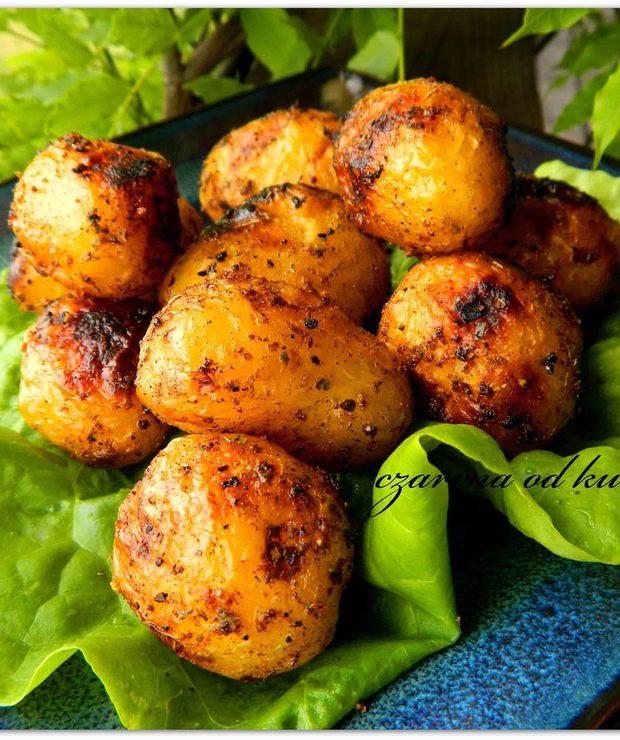Ziemniaczki z grilla - Potrawy z grilla