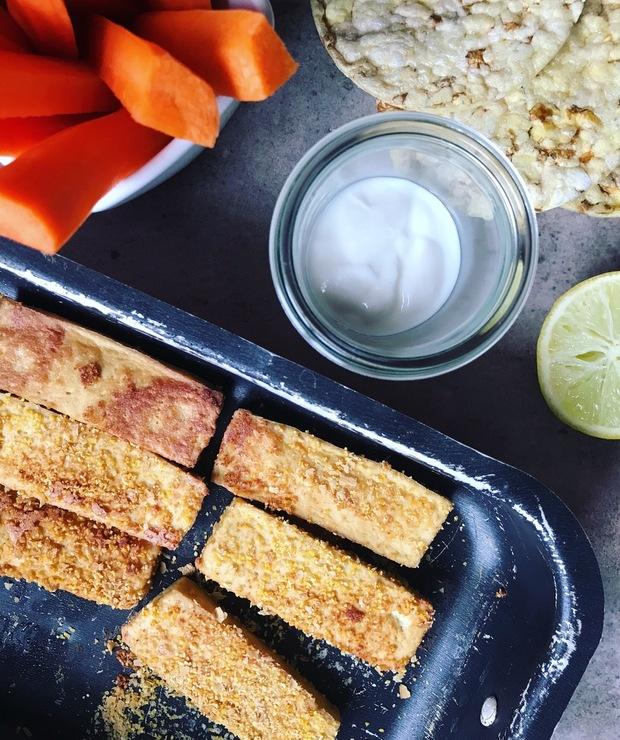 [168.] Bezglutenowe chrupiące tofu bez smażenia - Na gorąco