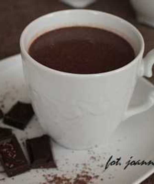 gorąca czekolada - Gorące
