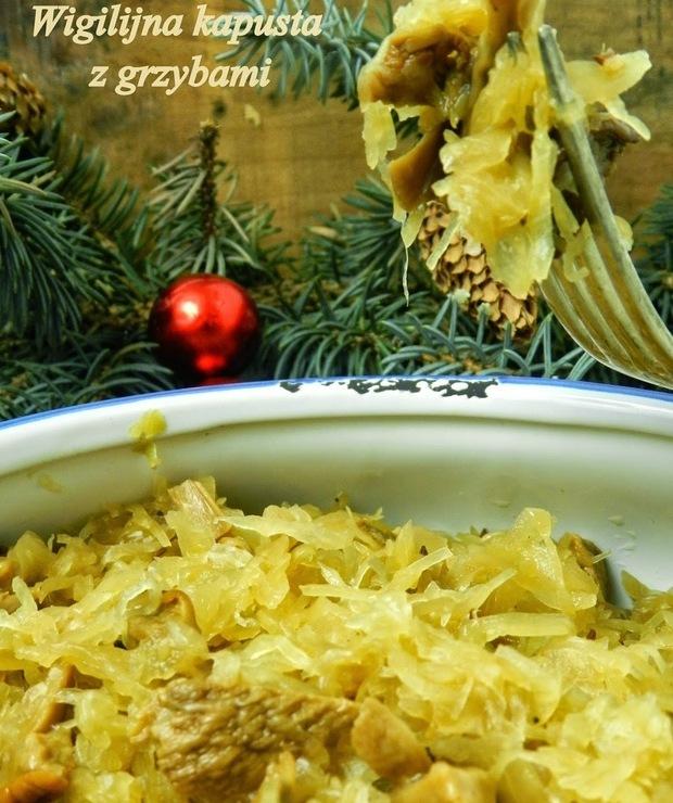 Wigilijna kapusta z grzybami  - Warzywa