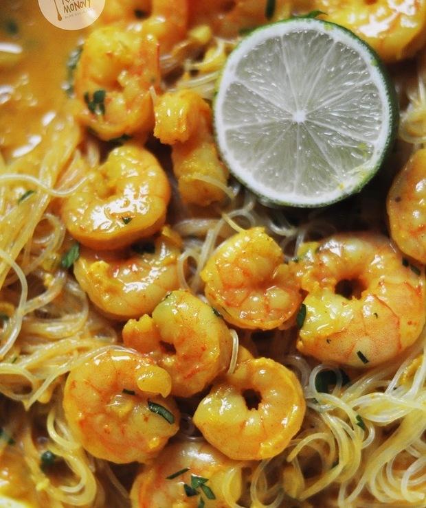 Curry z krewetkami - Krewetki