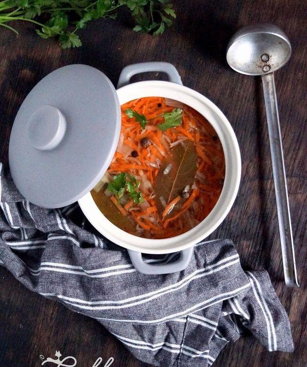 Wegański wywar warzywny (dieta dr. Dąbrowskiej) - Z warzywami