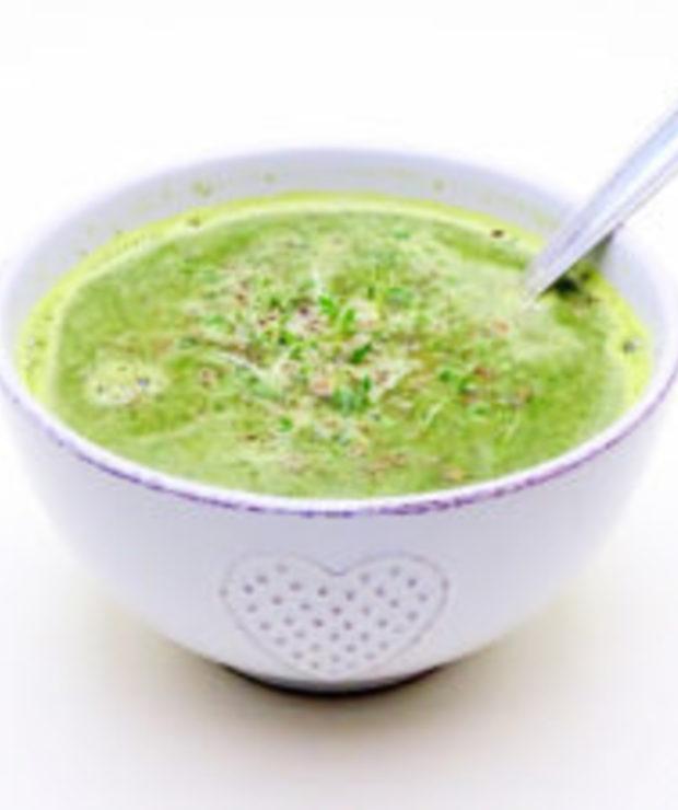 Zupa z pokrzywy i rzeżuchy – smaczna i szybka - Z warzywami