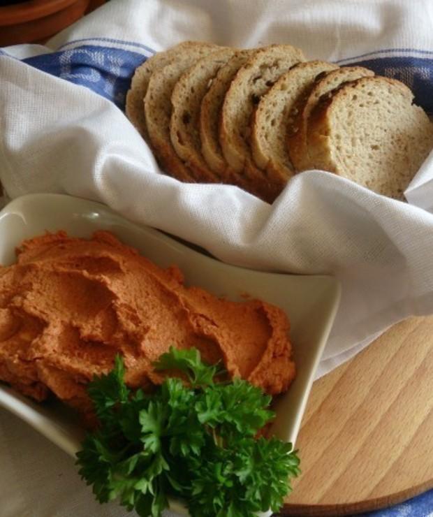 szybka pasta z wędzonej makreli - Na zimno