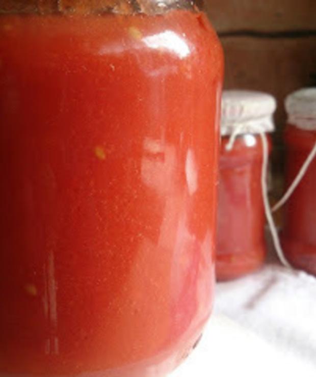 przecier pomidorowy - Warzywne