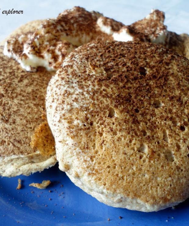 Placuszki z białek - Jajka i omlety