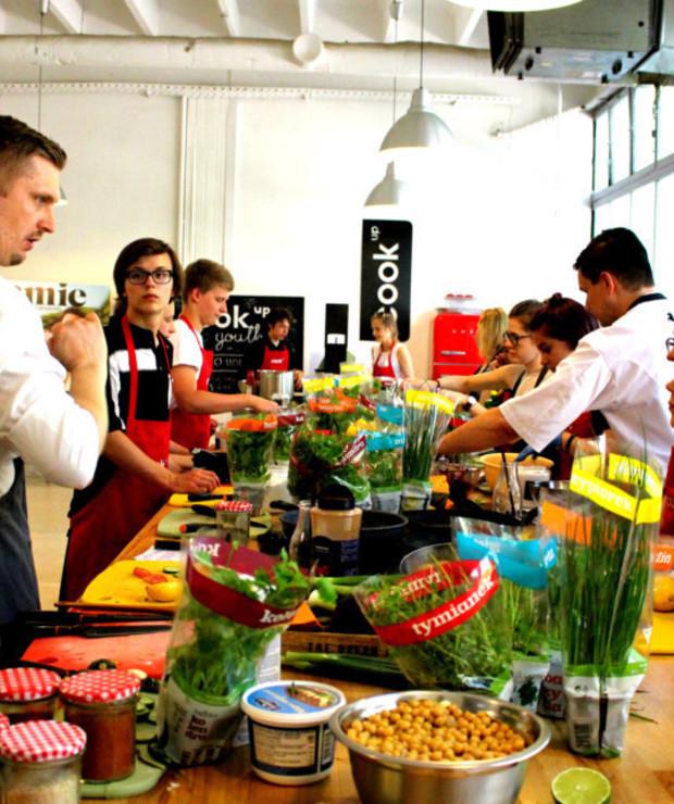 Relacja: Dzień otwarty Cook Up Youth - Potrawy