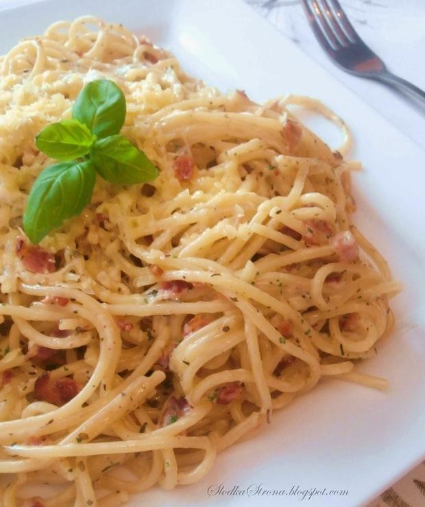"Spaghetti ""Carbonara"" - Inne"