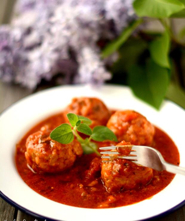 Klopsiki wsosie pomidorowym - Wieprzowina