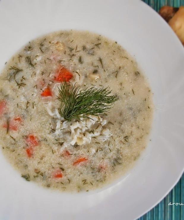Zupa koperkowa - Z warzywami