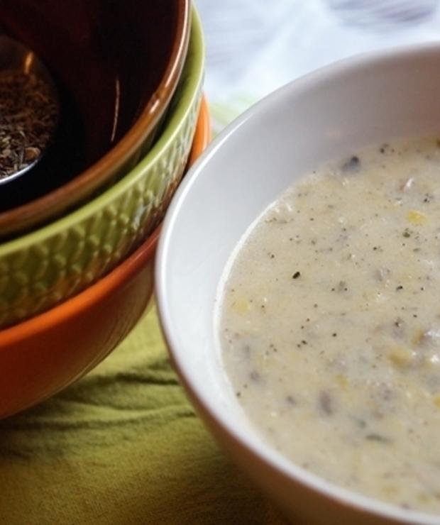 Srebrna zupa - Z mięsem