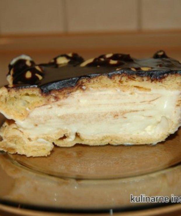 Karpatka z polewą czekoladową - Inne