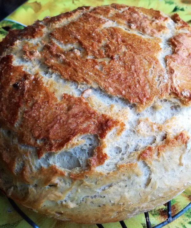 Chleb pszenno-żytni z ziarnami - Chleby