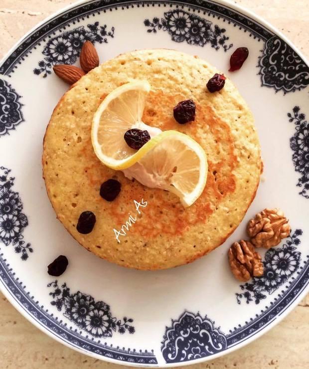 Cytrynowe ciasto (placek) z patelni - Desery i ciasta