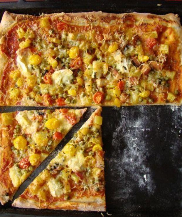 Ciasto na domową pizzę - Na gorąco