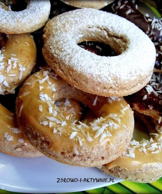 Oponki pieczone (bez glutenu) - Pączki