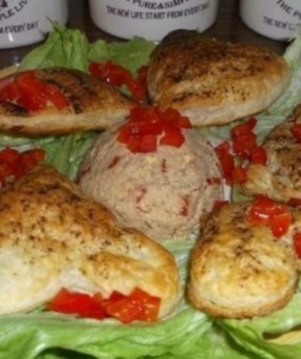 Walentynkowa przystawka  - Pasty do chleba