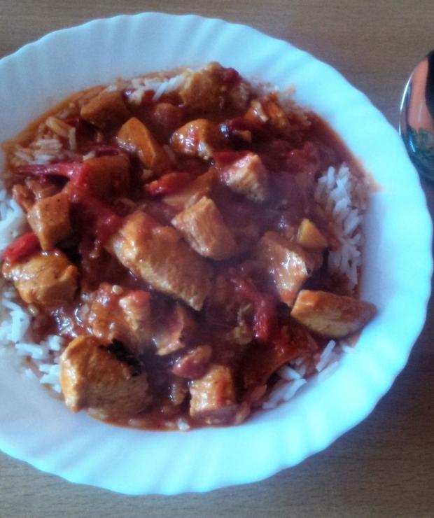 Czerwone curry - Drób