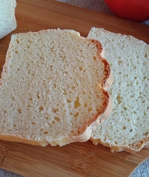Leniwy chleb nocny z twarogiem - Chleby