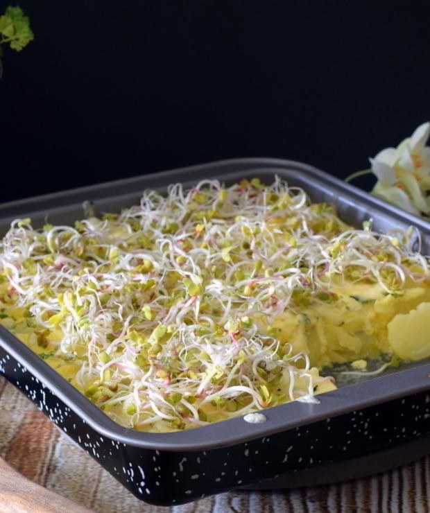 Ziemniaki zapiekane z serem - Jarskie