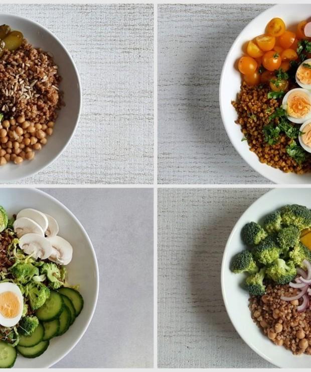 5 sałatek z kaszą gryczaną – na fit obiad | lekką kolację - Bezglutenowe