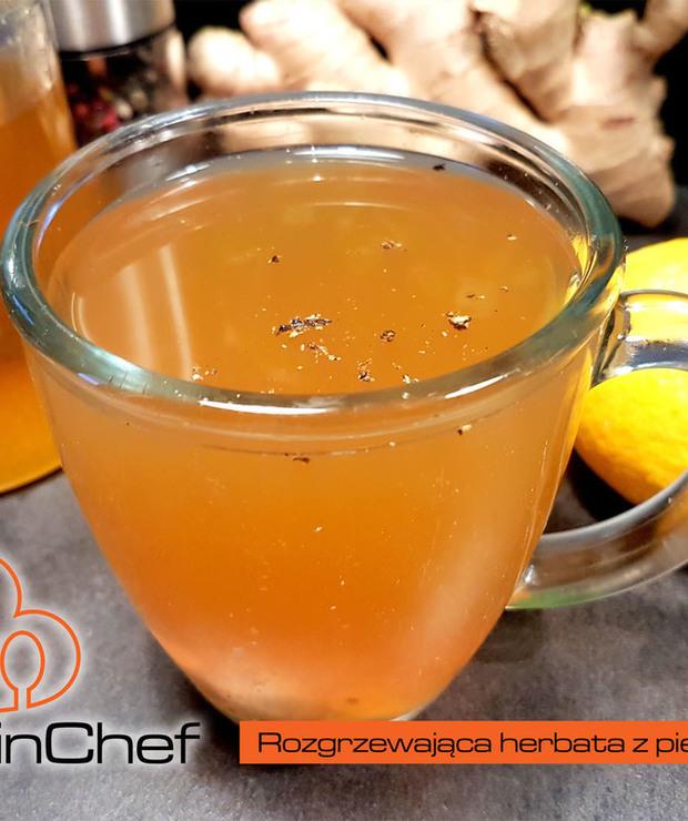Rozgrzewająca herbata z pieprzem i imbirem - Gorące