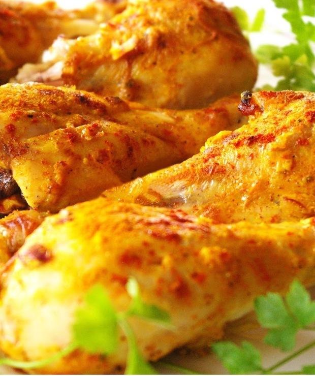 Kurczak tandoori. - Drób