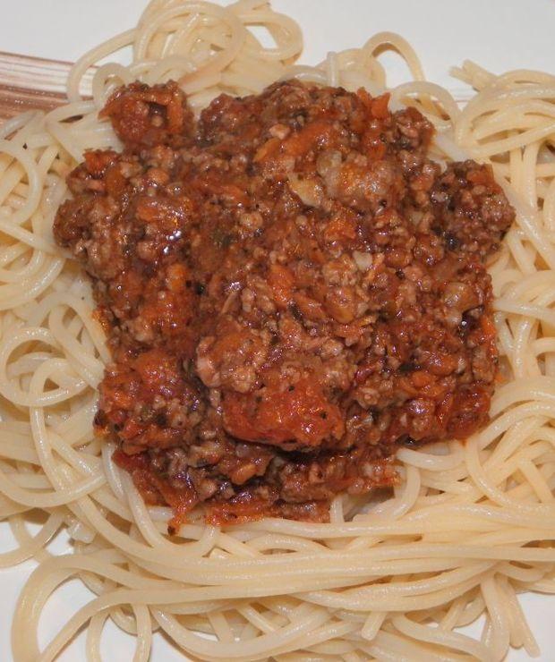 Spaghetti Bolognese - Dania z makaronu