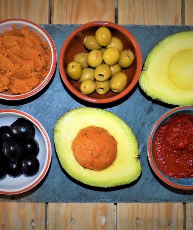 Humus z Gotowanej Cieciorki z Suszonymi Pomidorami - Na zimno