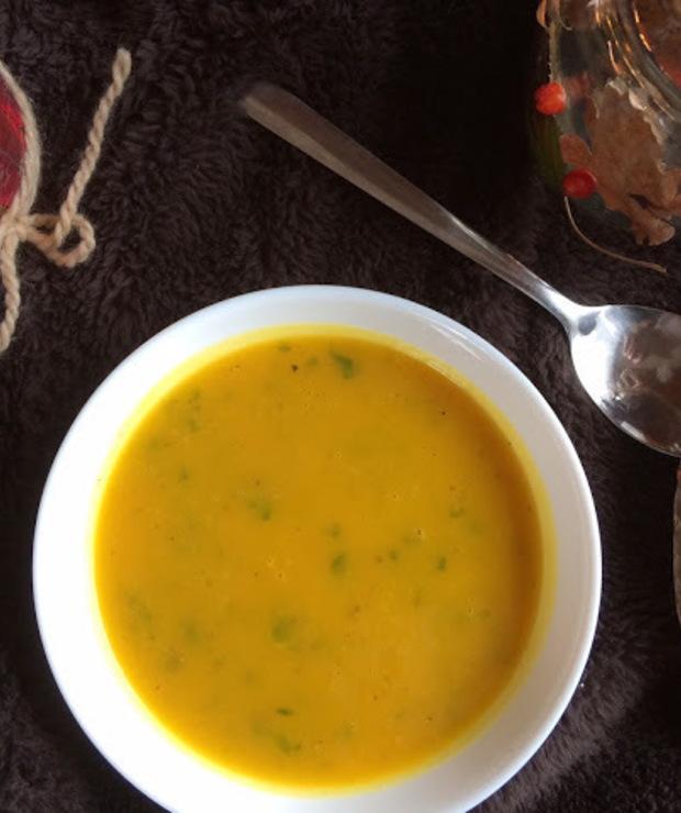 Dyniowa zupa; zupa krem z dyni - Warzywa