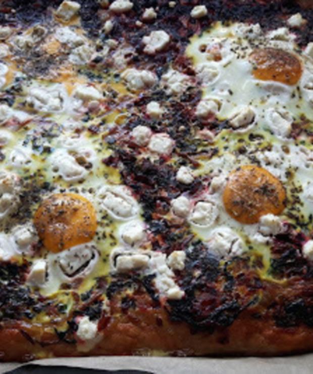 PIZZA Z JAJEM - Pizza i calzone