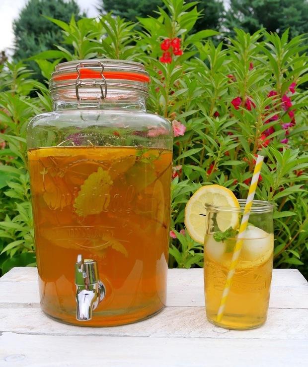 Mrożona zielona herbata - Zimne