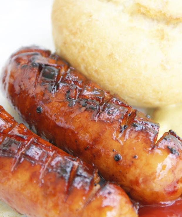 Piekielne kiełbaski z grilla - Wieprzowina