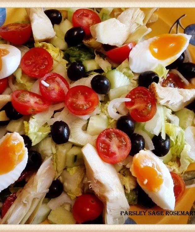 Salade niçoise - Jarskie