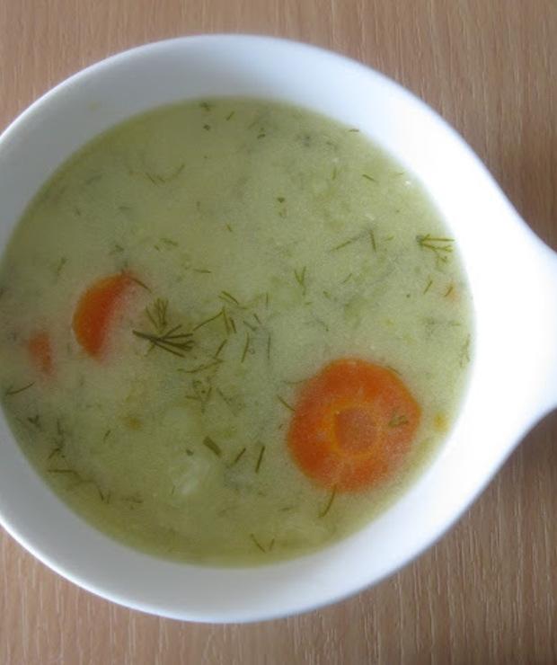 Wegańska zupa koperkowa - Z warzywami