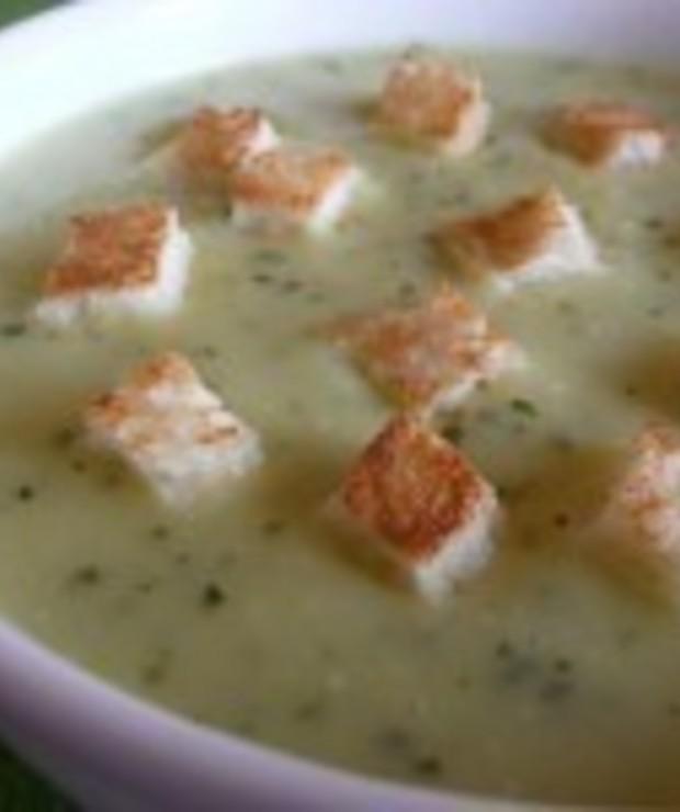 Zupa krem z cukinii - Kremy