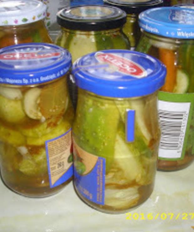Letnie przetwory: Ogórki curry - Warzywne