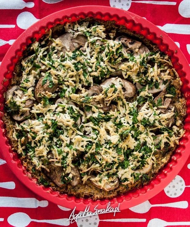 Dyniowa tarta bezglutenowa z pieczarkami i tofu – jej wegańska pyszność - Tarty wytrawne