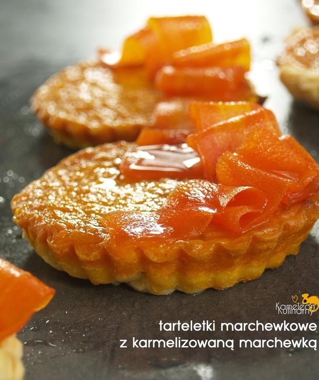 TARTELETKI MARCHEWKOWE z karmelizowaną marchewką - Muffiny i babeczki